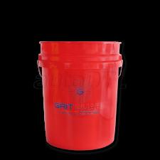 5 Gallon Bucket - Vermelho